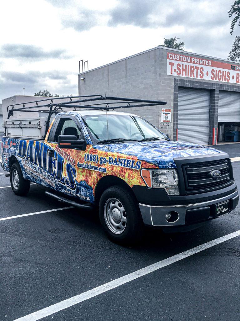 Custom truck graphics